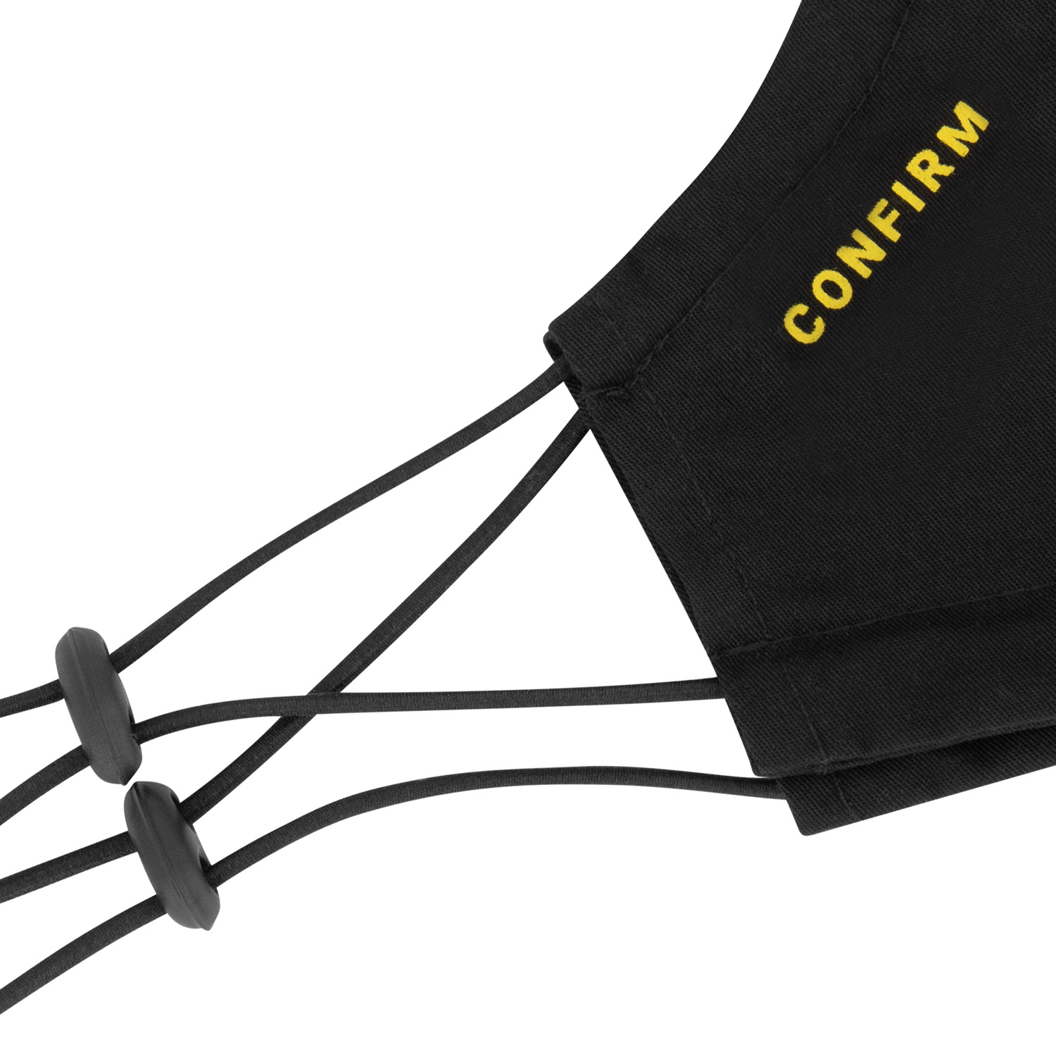 Confirm mask 2-pack - black/yellow-3