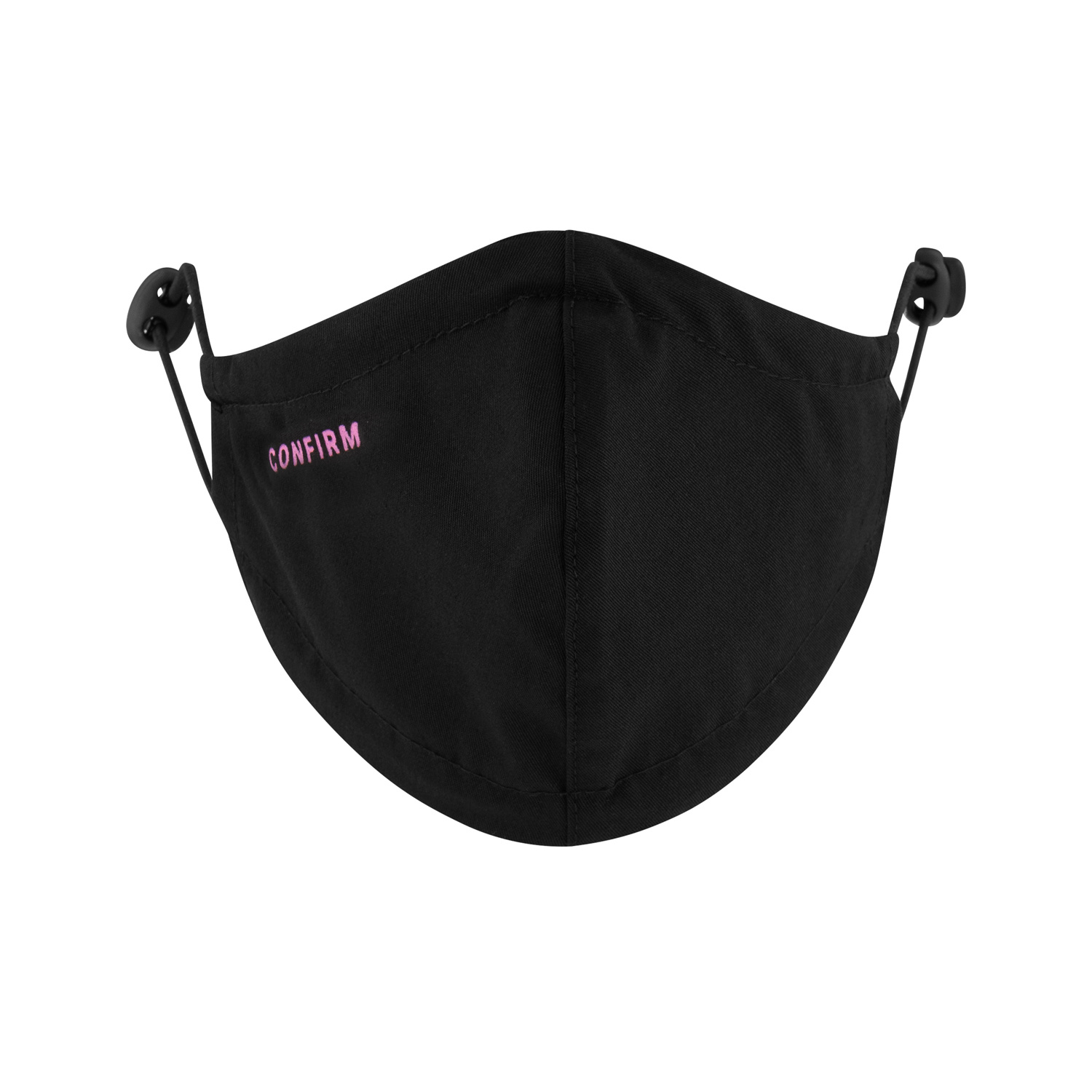 Confirm mask 2-pack - black/fuchsia-5