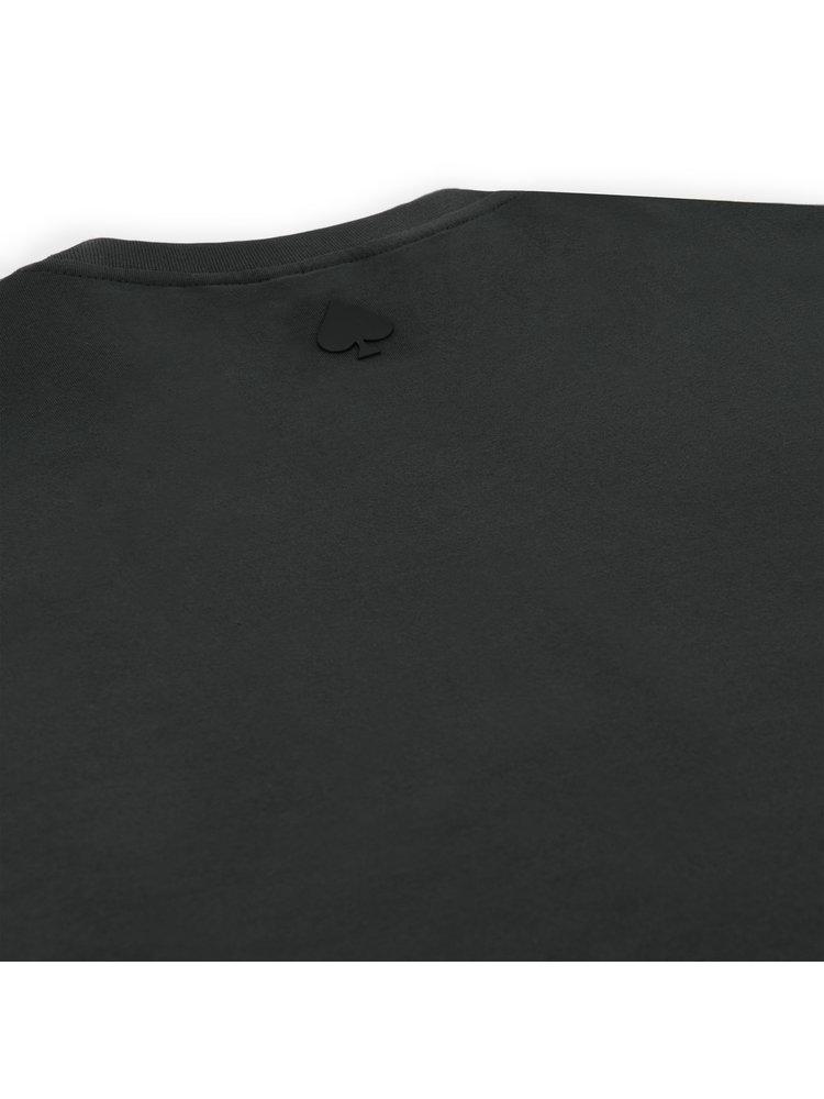 Confirm Junior brand banner T-shirt - dark grey