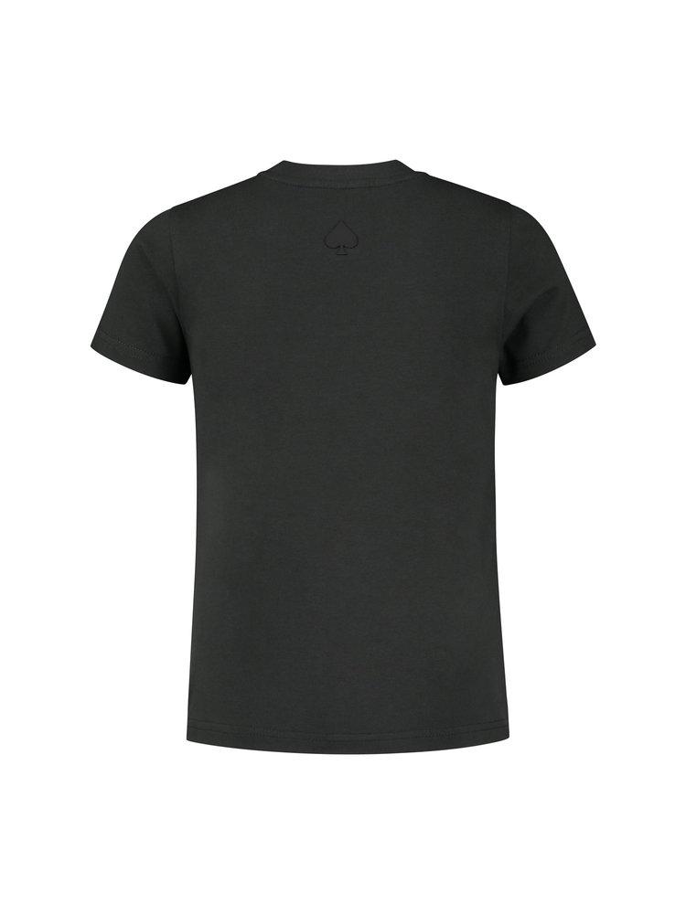 Confirm Junior brand banner T-shirt - donkergrijs