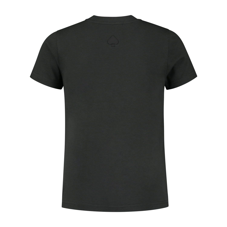 Confirm Junior brand banner T-shirt - donkergrijs-3