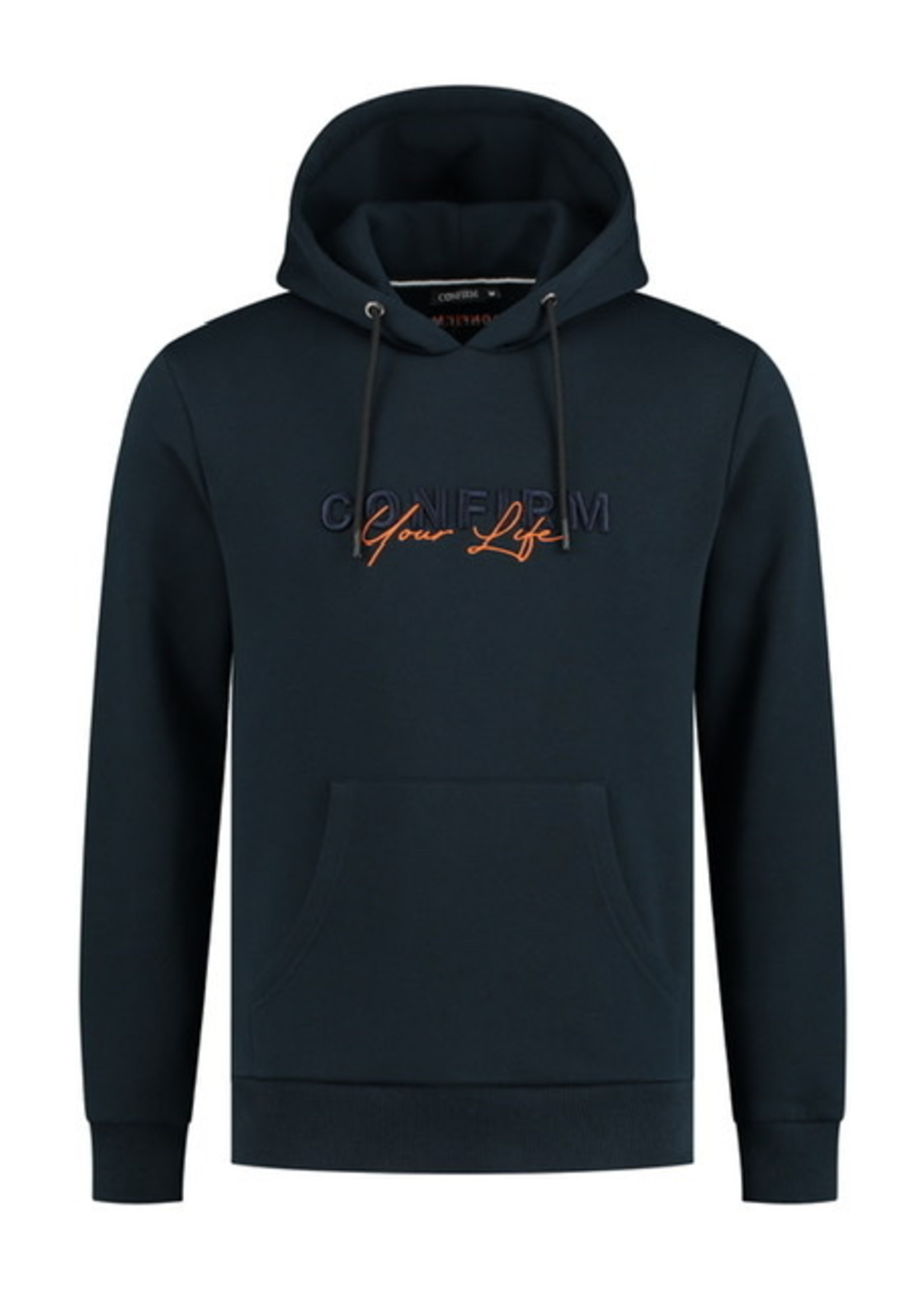 Hoodie Confirm your life - navy