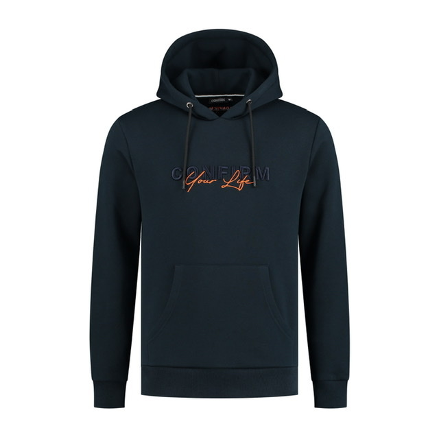 Hoodie Confirm your life - navy-1