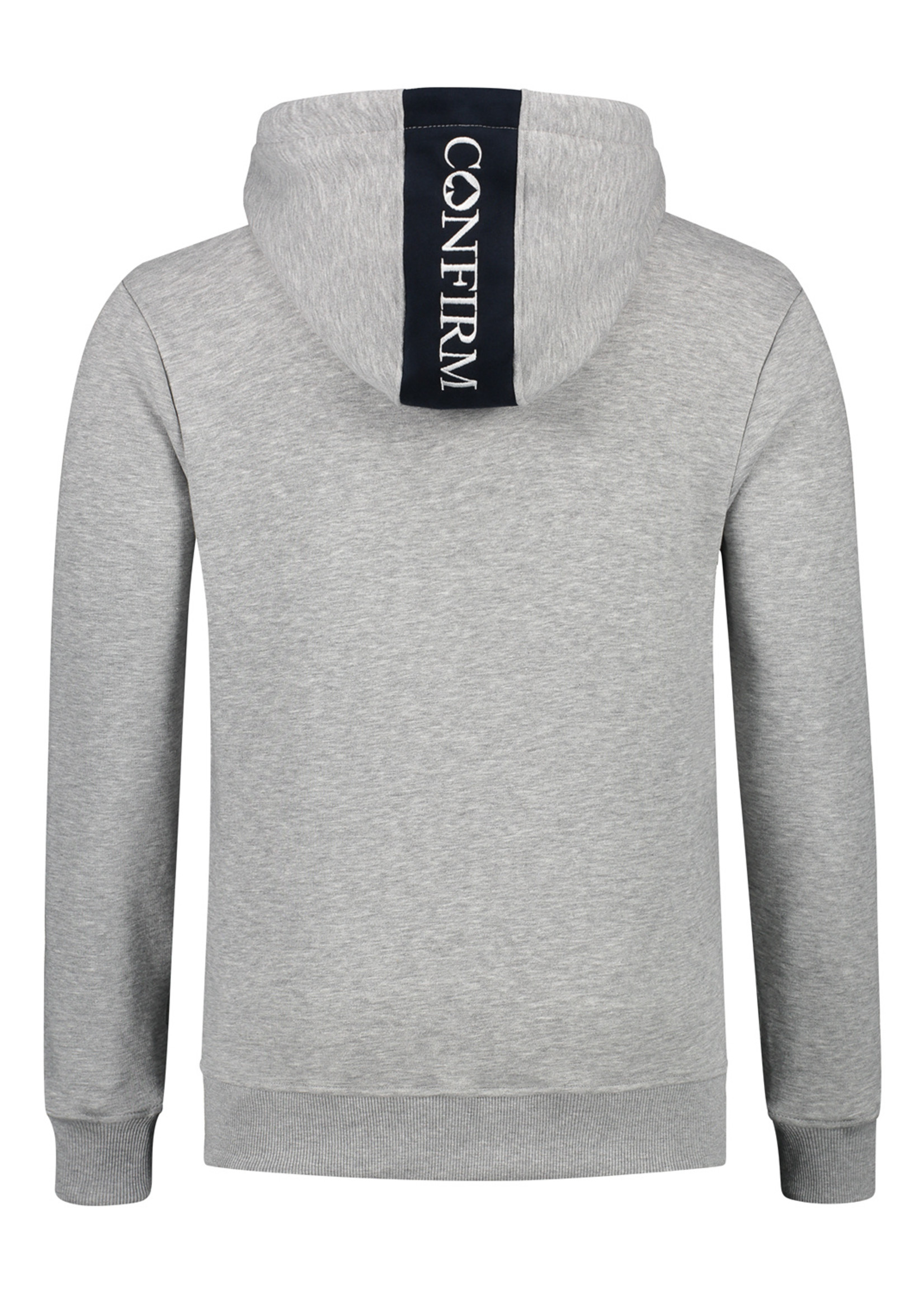 Confirm hoodie blind for love - grey