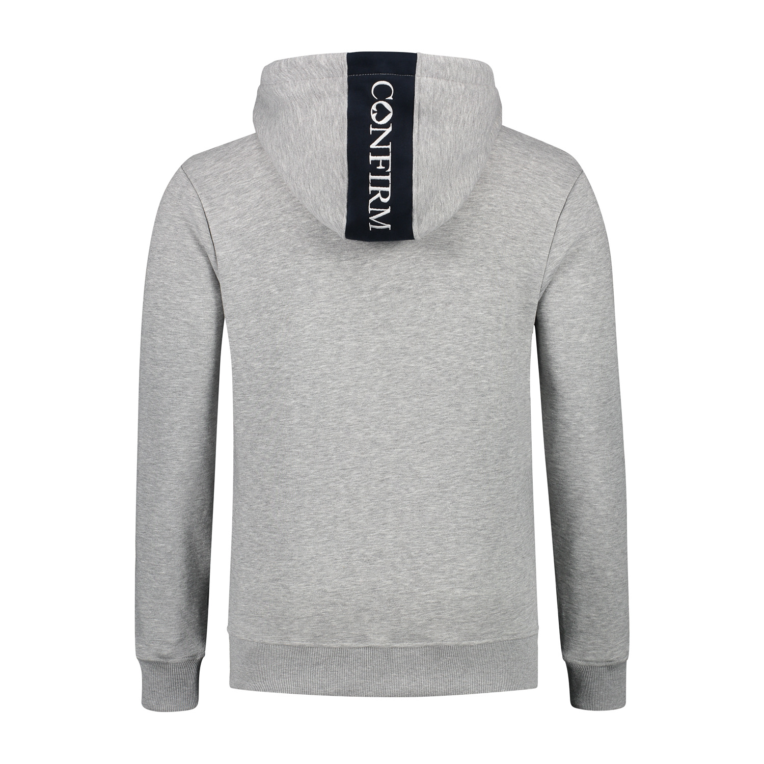 Confirm hoodie blind for love - grey-3