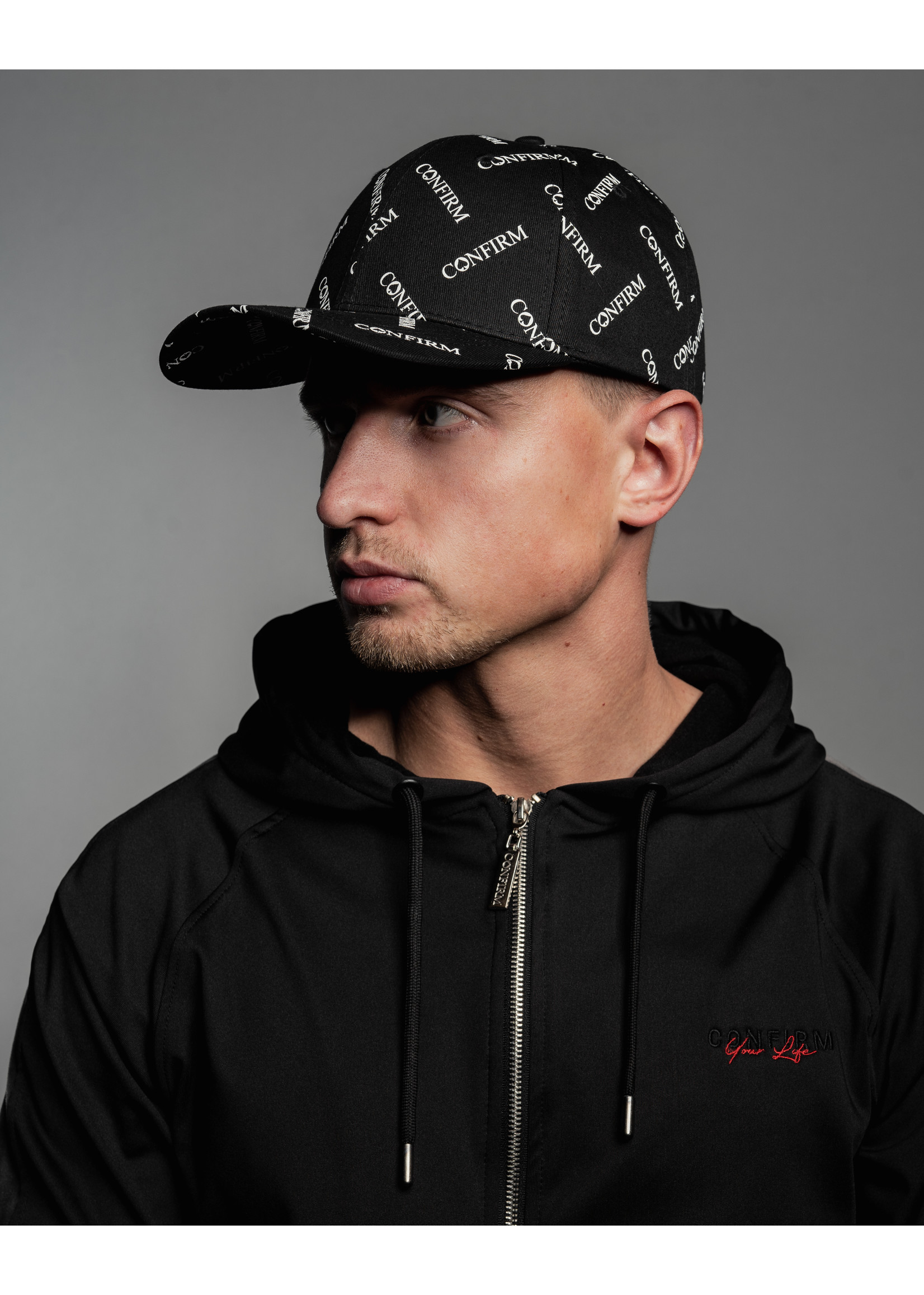 Confirm brand cap - all over