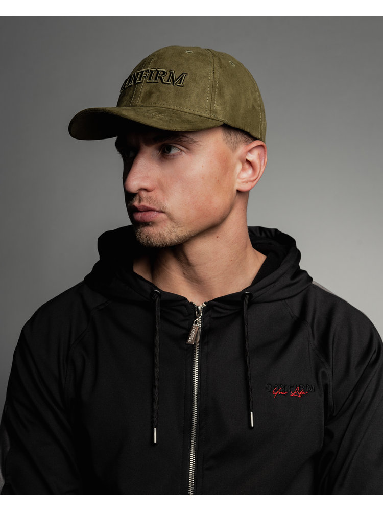 Confirm brand suede look pet - army
