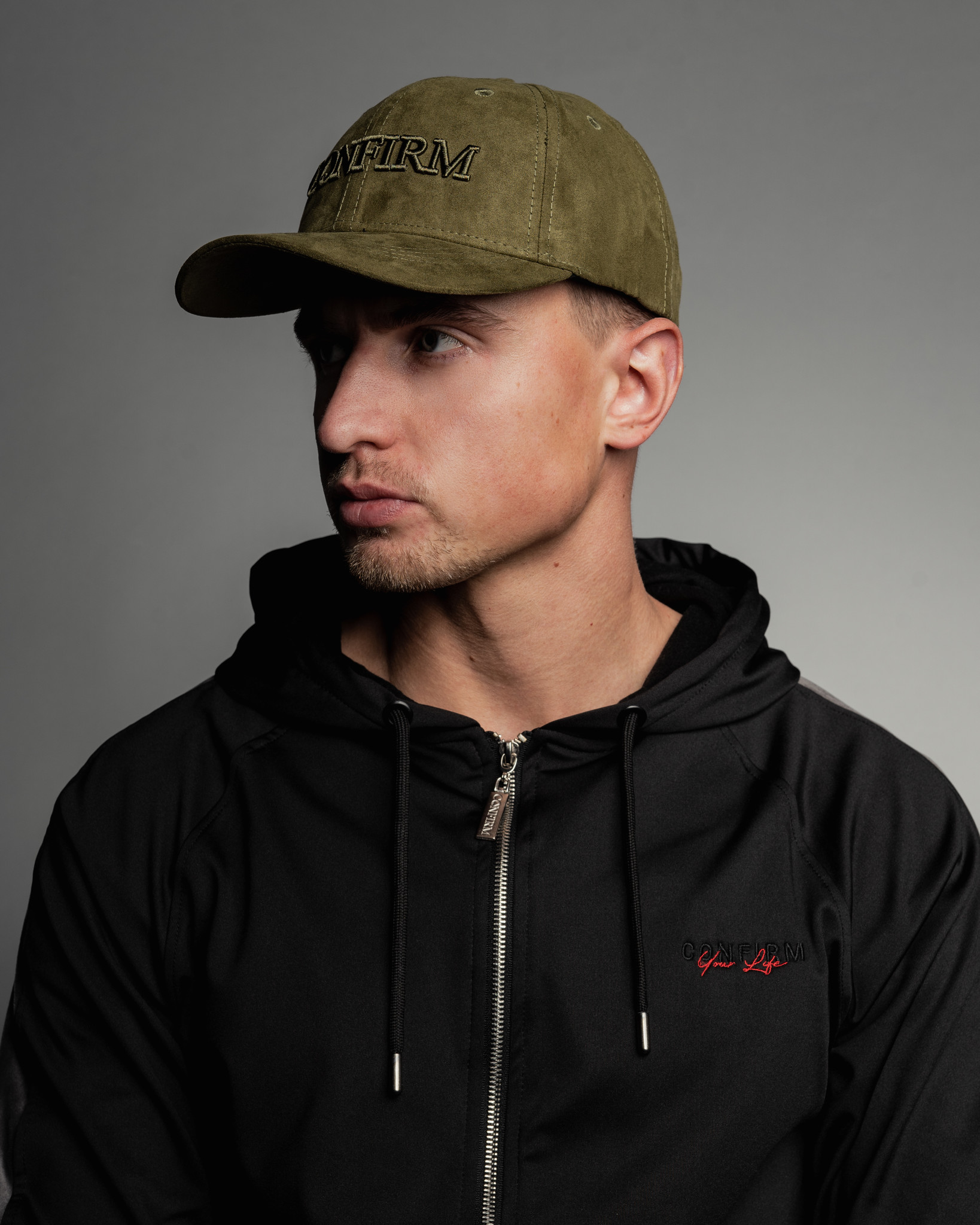 Confirm brand suede look pet - army-2