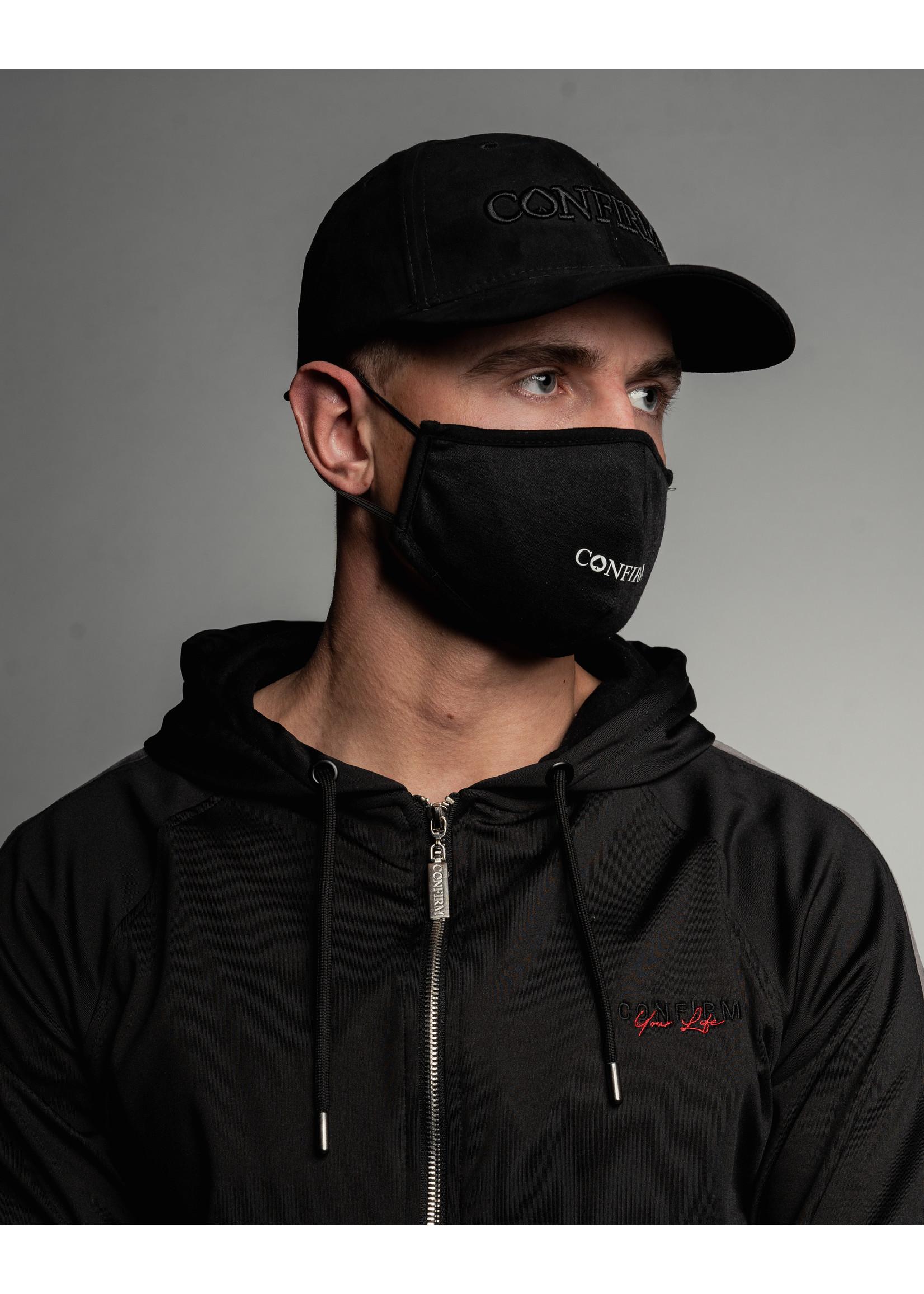 Confirm mask - black/white
