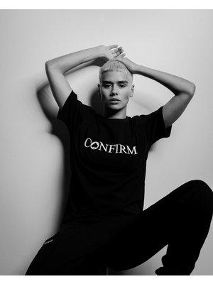 Confirm brand T-shirt 3D - zwart