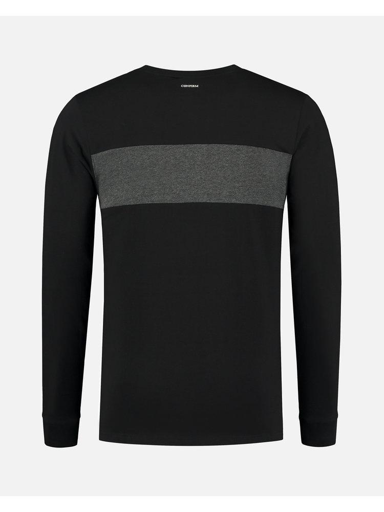 Confirm T-shirt blind for love - black