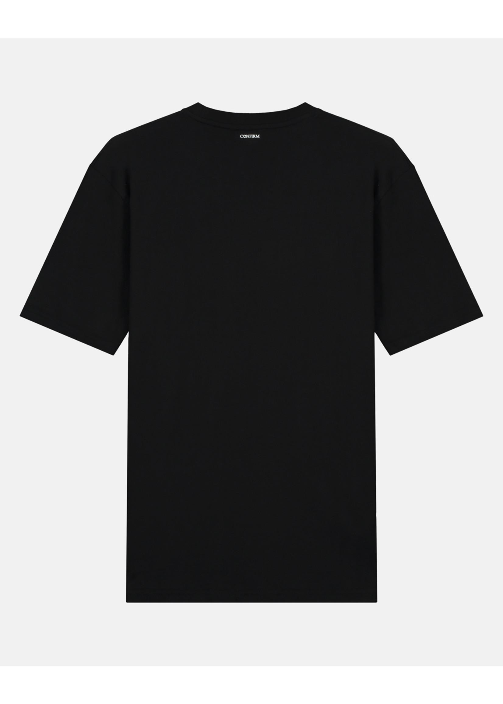 Confirm brand T-shirt identity - neon pink