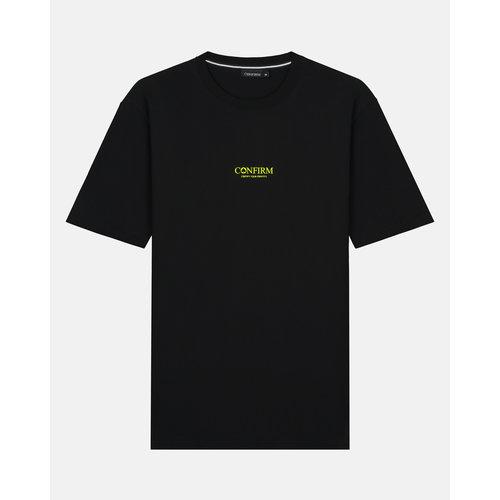 Brand T-shirt identity subtle - neon geel