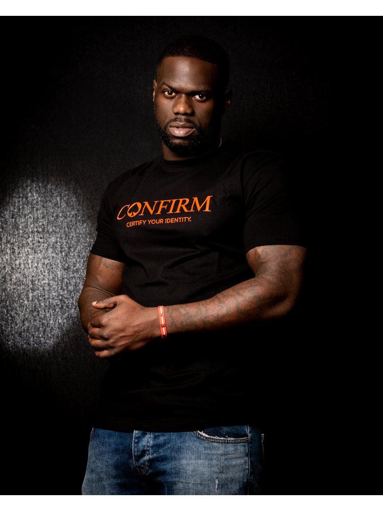 Confirm brand  T-shirt identity - neon oranje