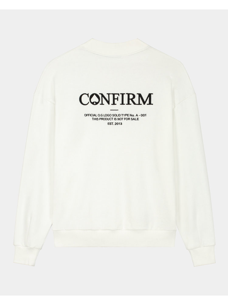 Confirm brand sweater O.G. - off white