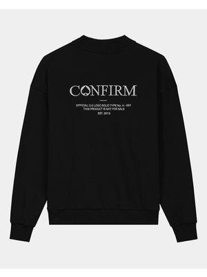Confirm brand sweater O.G - black