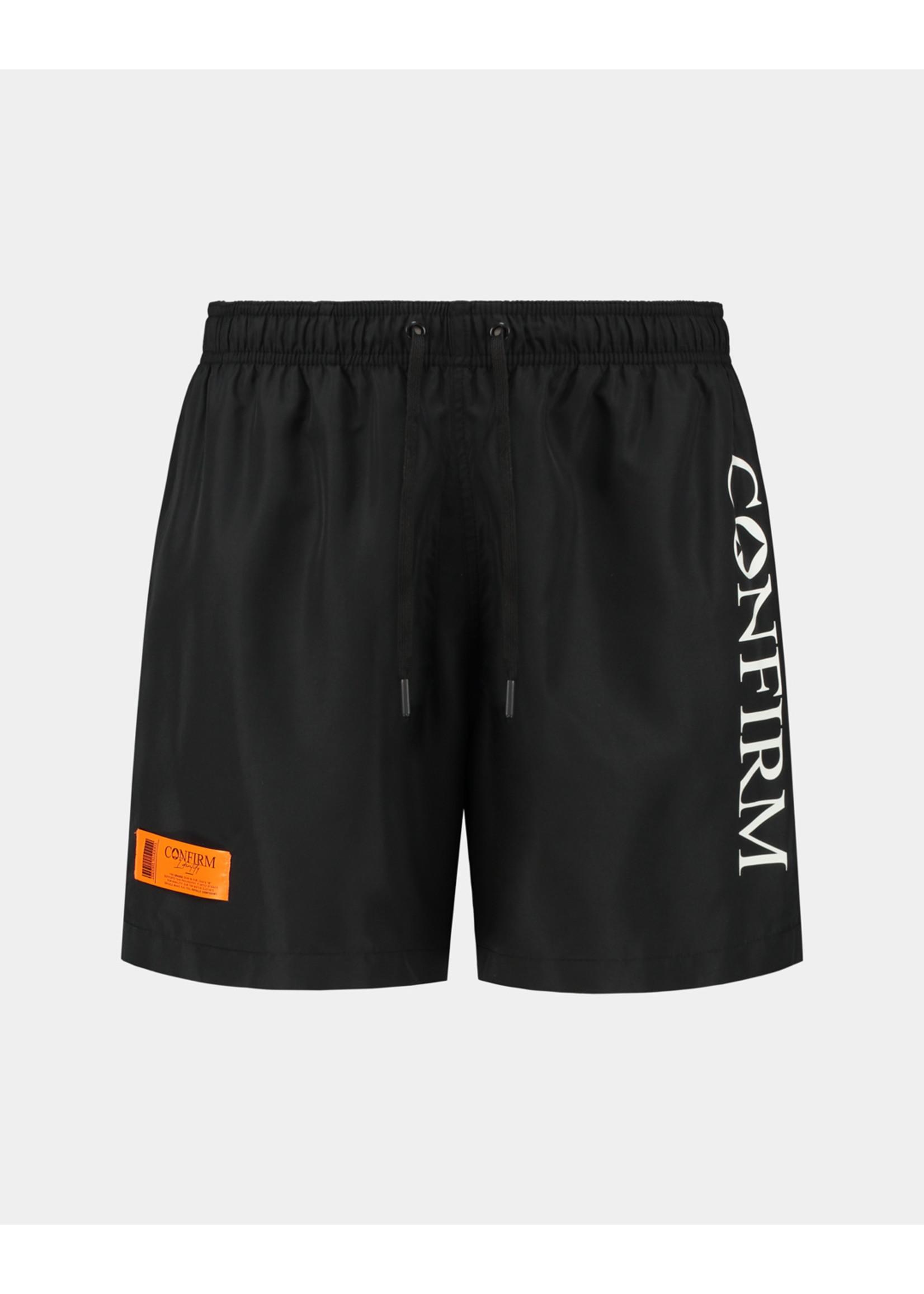 Confirm brand swim short O.G. - black/orange