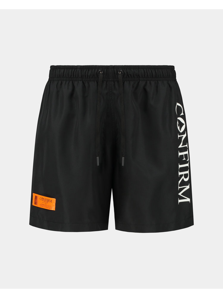 Confirm brand swim short O.G. - black/orange