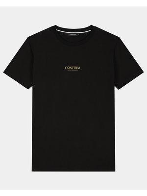 Brand T-shirt identity subtle - goud reflectie