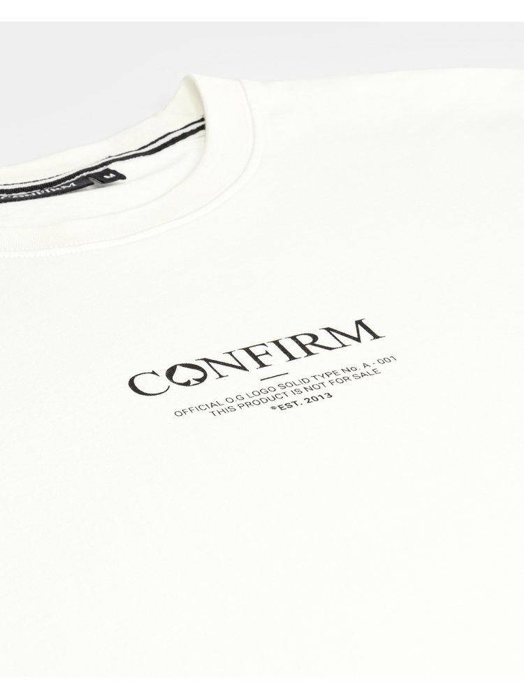Confirm brand T-shirt O.G. - off white