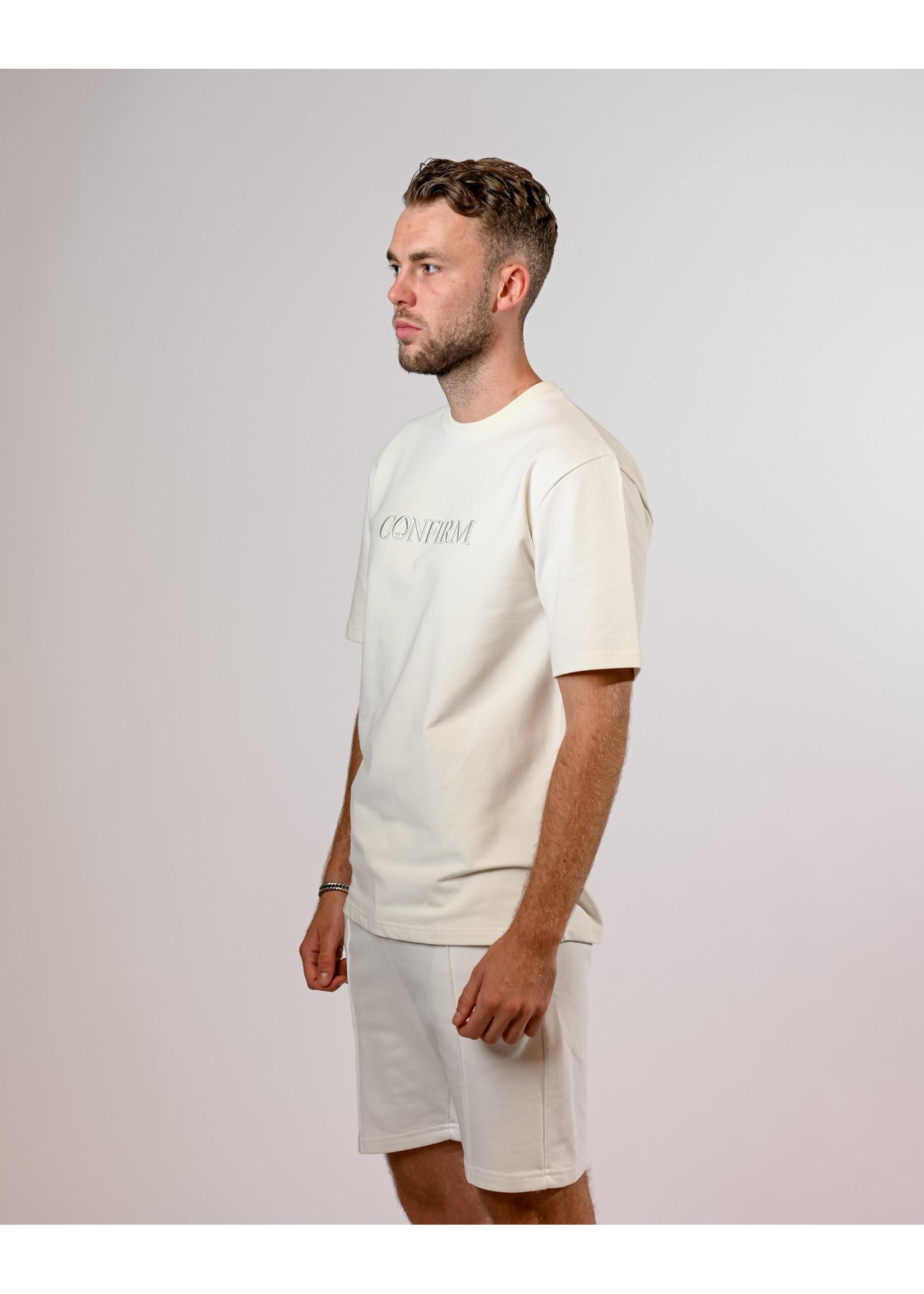 Confirm classic T-shirt TST - Off white