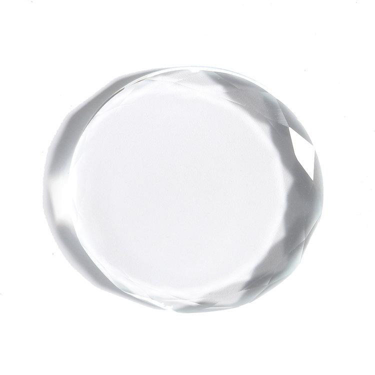 Crystal round glue holder