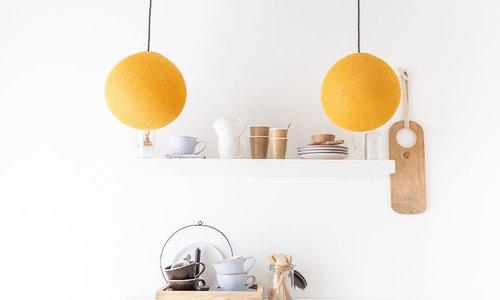 Cotton Ball Lampen