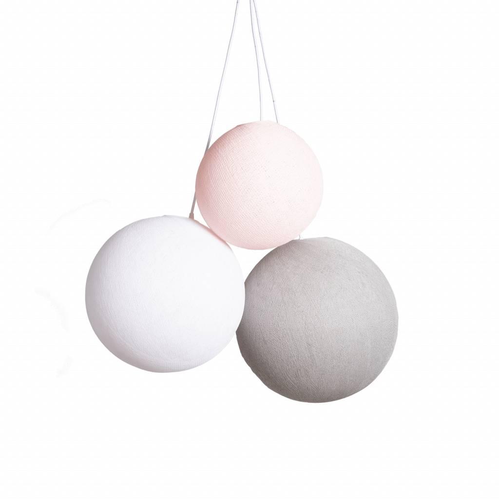 Drievoudige hanglamp 1 punt - Blushy Greys