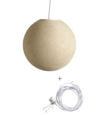 COTTON BALL LIGHTS Wandering Lamp - Cream