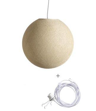 COTTON BALL LIGHTS Wandering Lampe - Cream