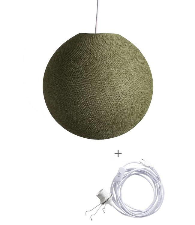 COTTON BALL LIGHTS Wandering Lamp - Kaki