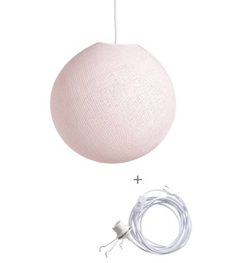 COTTON BALL LIGHTS Wandering Lamp - Light Pink