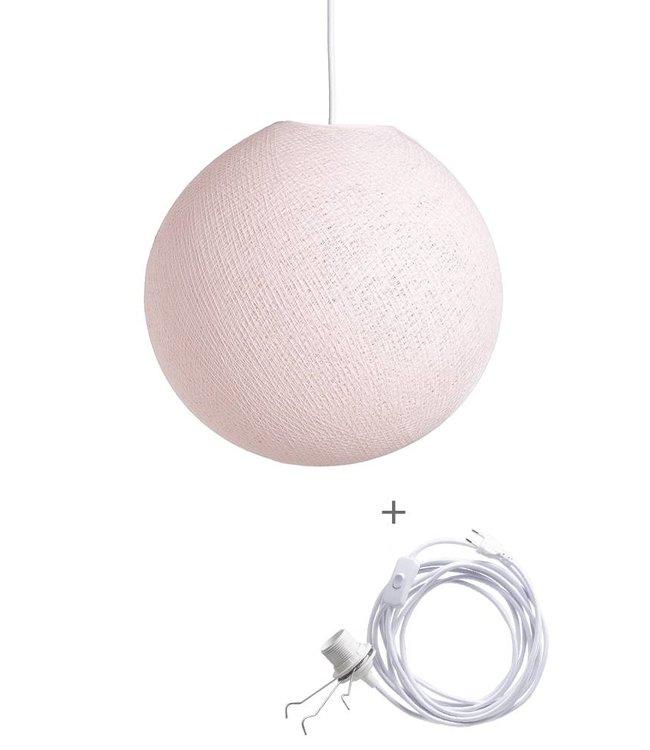 COTTON BALL LIGHTS Wandering Lampe - Light Pink