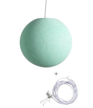 COTTON BALL LIGHTS Wandering Lampe - Mint