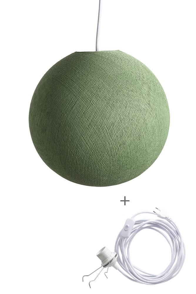 Cotton Ball Lights wandering hanglamp groen - Sage Green
