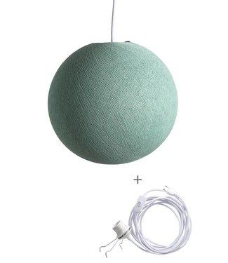 COTTON BALL LIGHTS Wandering Lampe - Sea Green