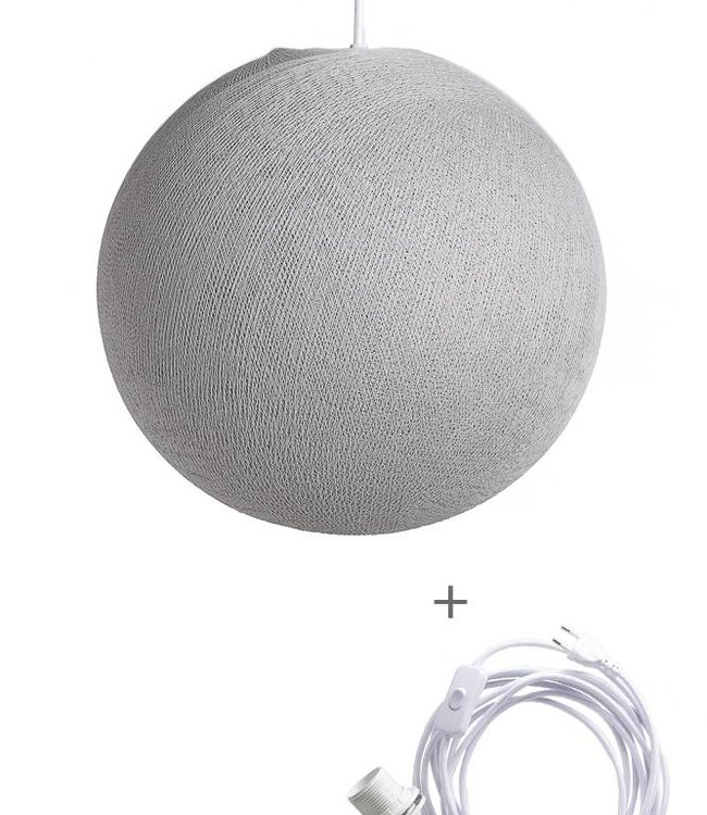 COTTON BALL LIGHTS Wandering Lamp - Stone