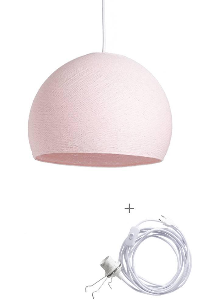 Cotton Ball Lights driekwart wandering hanglamp roze - Light Pink
