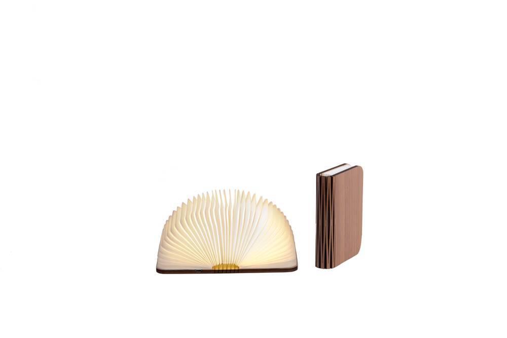 Cotton Ball Lights boek lamp bruin - Walnoot bruin book lamp