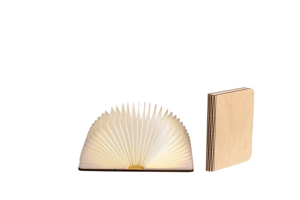 Cotton Ball Lights boek lamp bruin - Esdoorn bruin book lamp