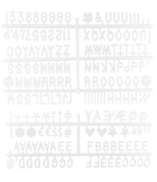 LEDR Buchstabe Set Weiß