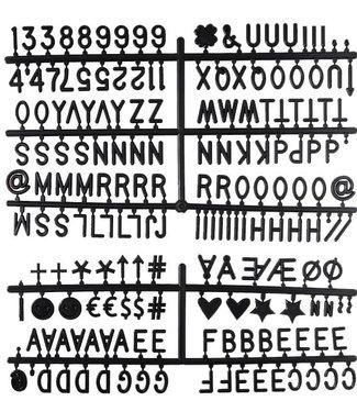 LEDR Letter Set Zwart