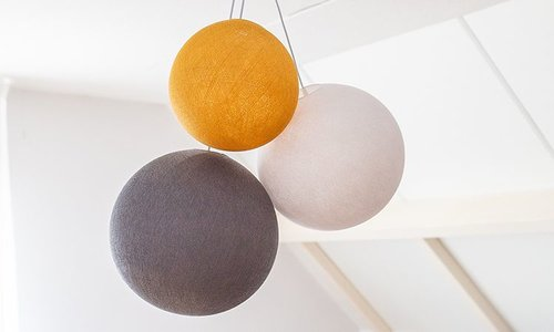 Triple Hanging lamps