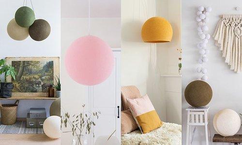 Alle Cotton Ball Lampen