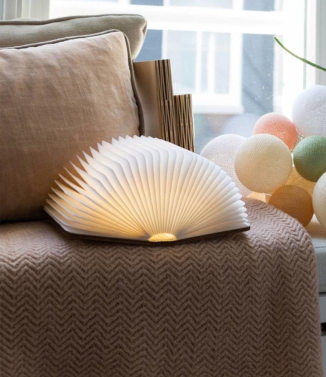 LEDR Boek Lamp Esdoorn Bruin