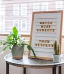 LEDR Oldschool Letterboard White
