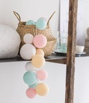 COTTON BALL LIGHTS Cotton Ball Lights Premium lichtslinger pastel - Lovely Sweets