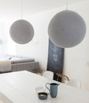 COTTON BALL LIGHTS Cotton Ball Lights enkelvoudige hanglamp grijs - Stone