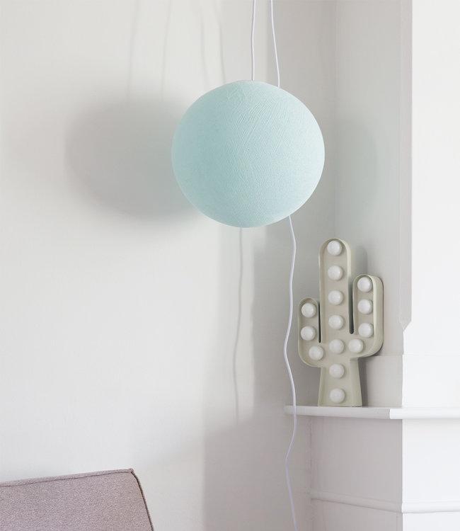 COTTON BALL LIGHTS Hanglamp - Light Aqua