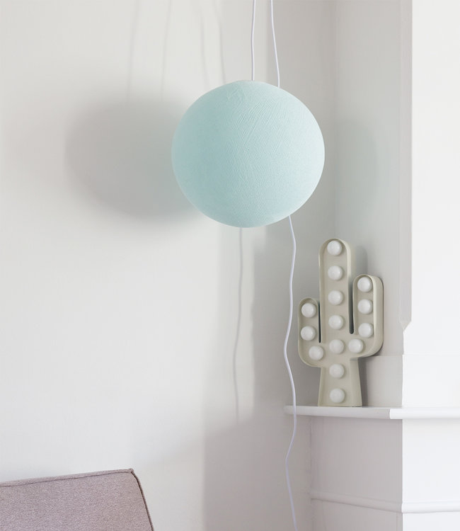 COTTON BALL LIGHTS Hanglamp - Light Aqua